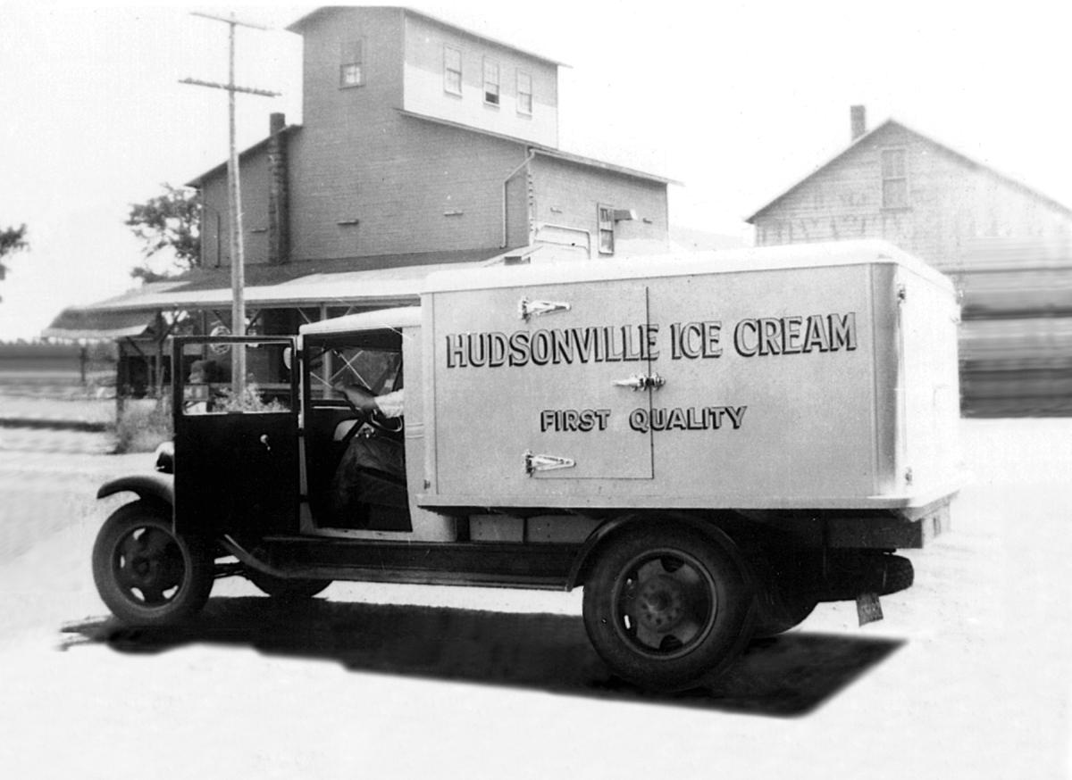 Creamery starts making ice cream.