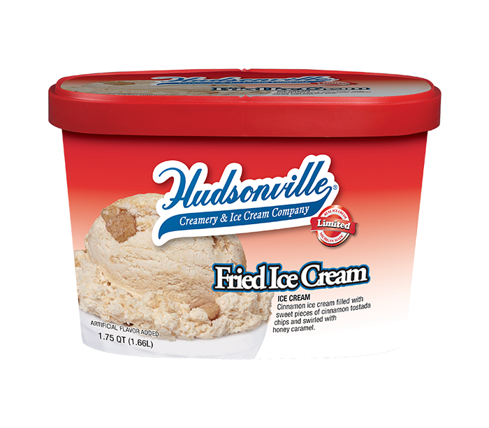 Fried Ice Cream Carton