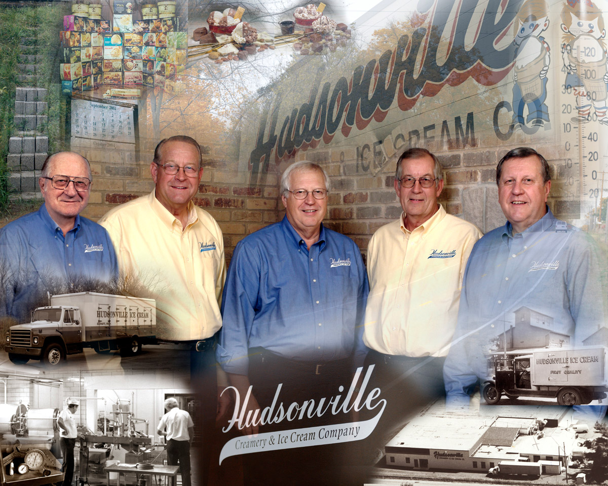 Dick Hoezee sells the business to his four sons: Dell, Jack, Rich & Phil. During this time, Hudsonville Ice Cream becomes a West Michigan favorite, expanding its availability.