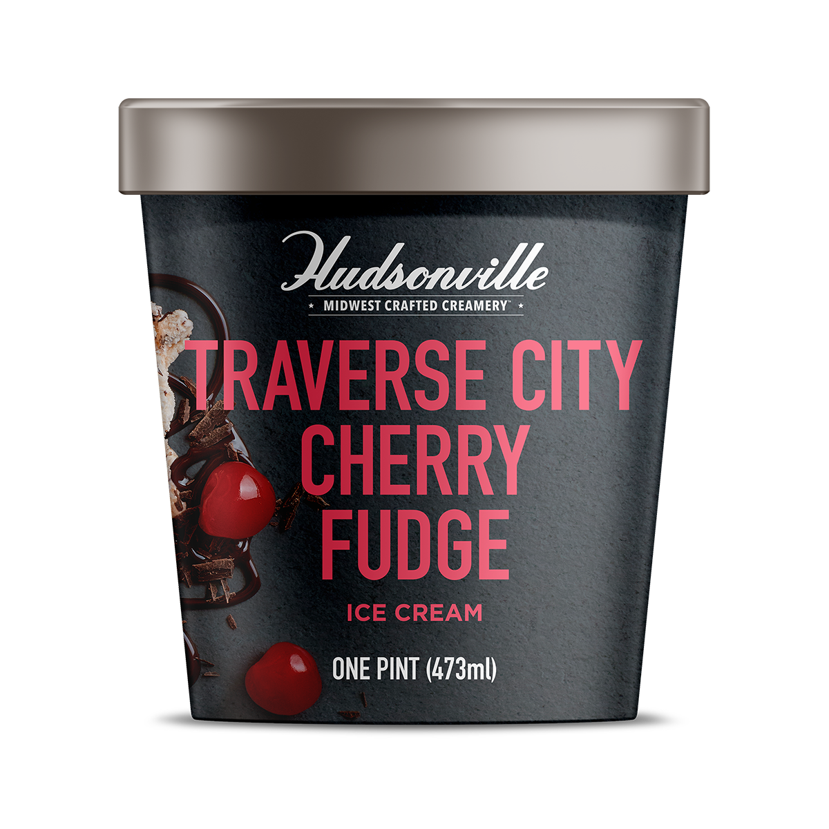 TRAVERSE CITY CHERRY FUDGE Pint
