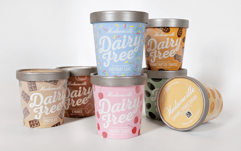 Hudsonville diversifies its offering with its Dairy Free lineup, featuring seven unique flavors made with a coconut cream and oat milk base.